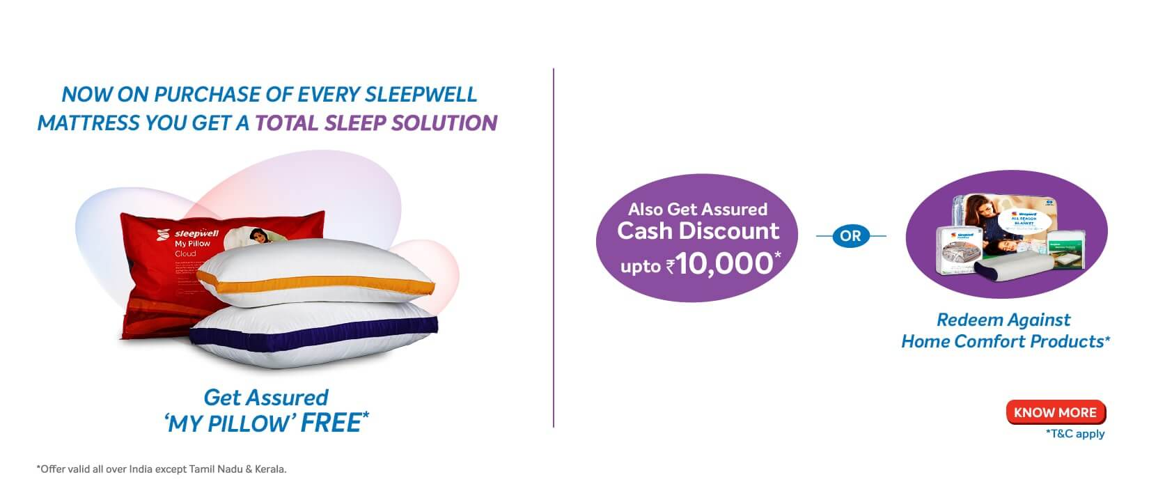 Sleepwell Mattress Offer 2019