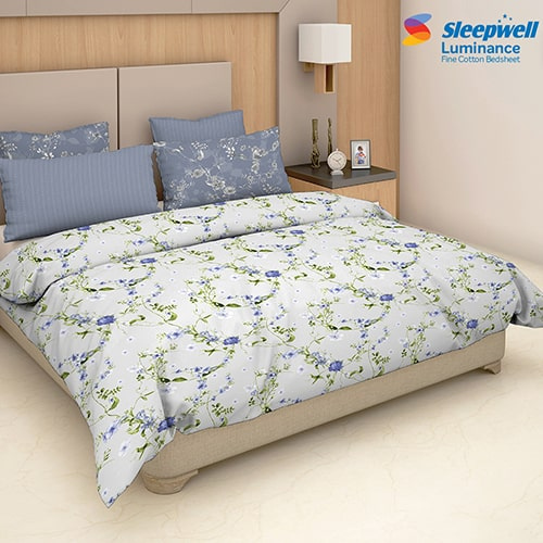 Sleepwell Luminance Bedsheet Accessories