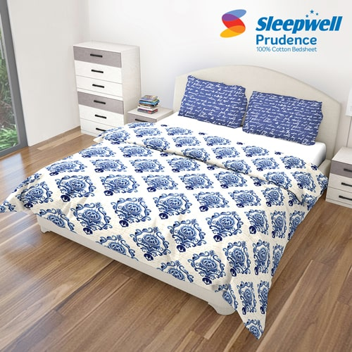 Sleepwell Prudence Bedsheet Accessories