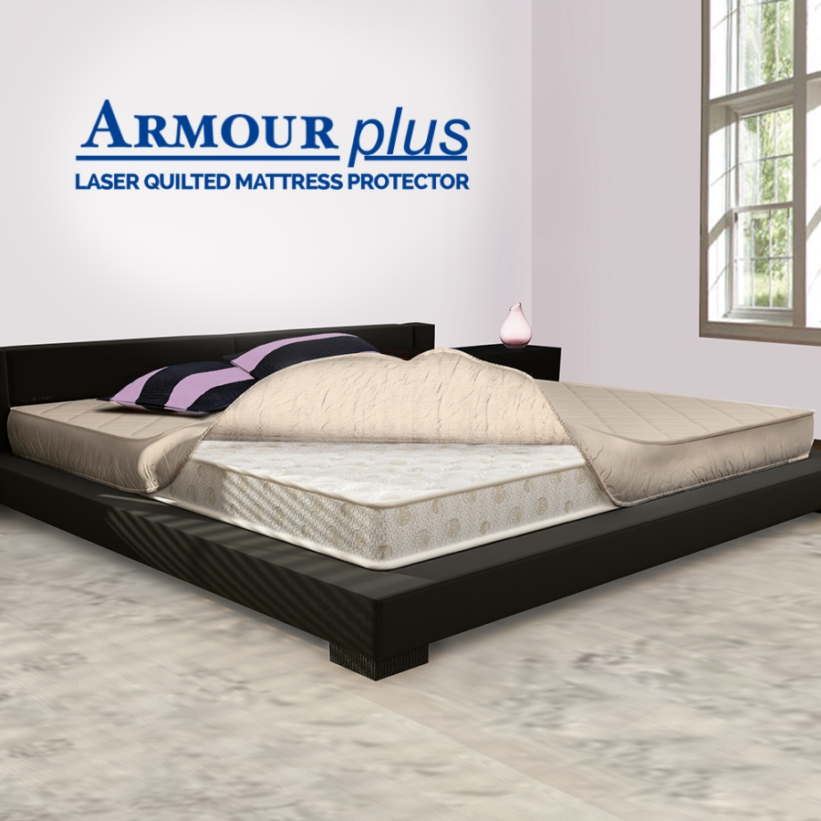 Sleepwell Armour Plus Mattress Protector Accessories