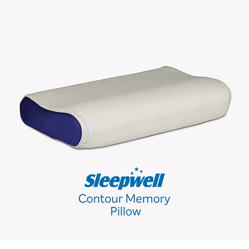 Sleepwell Contour Memory Pillow