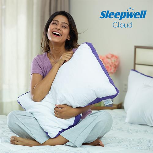 Sleepwell Cloud High Rise Pillow