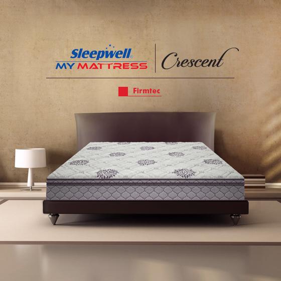 Sleepwell Crescent Firmtec Mattress