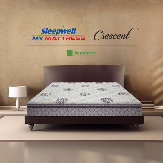 Sleepwell Crescent Supportec Mattress