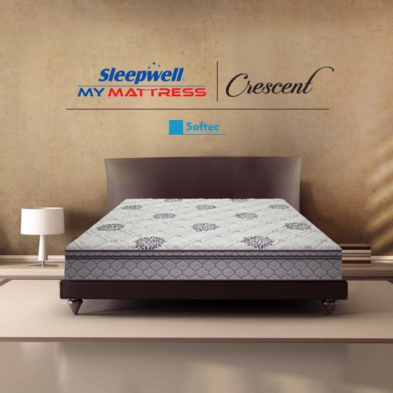 Sleepwell Crescent Softec Mattress