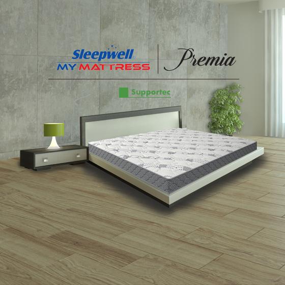 Sleepwell Premia Supportec Mattress