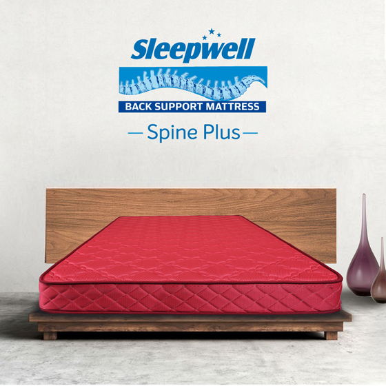 Sleepwell Spine Plus Mattress