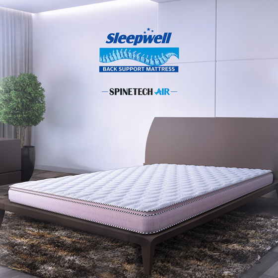 Sleepwell Spinetech Air Mattress