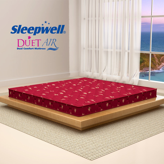 Sleepwell Duet Air Mattress