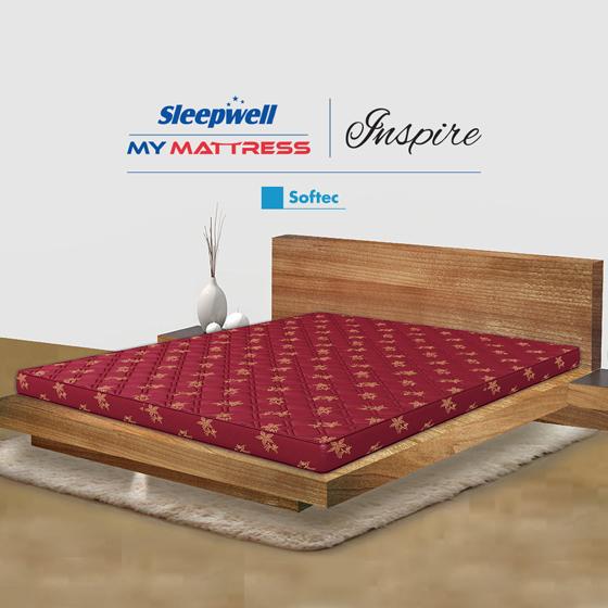 Sleepwell Inspire Softec Mattress
